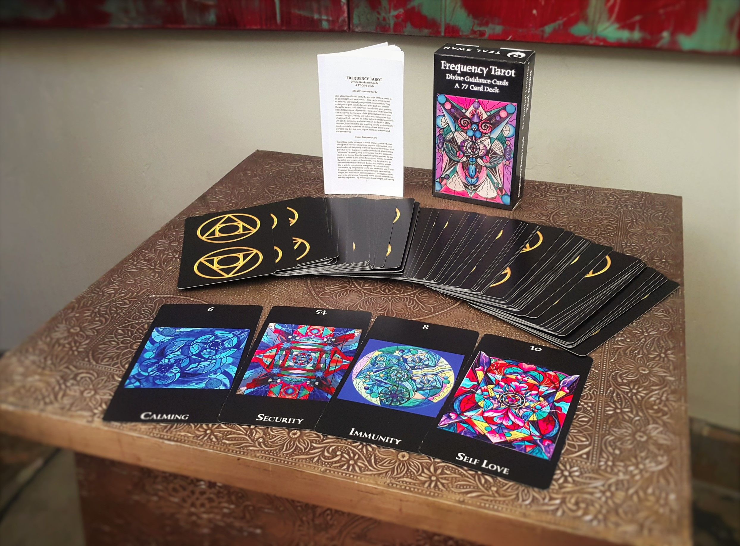 Frequency Tarot Divine Guidance Cards Tarot Teal Swan Cards