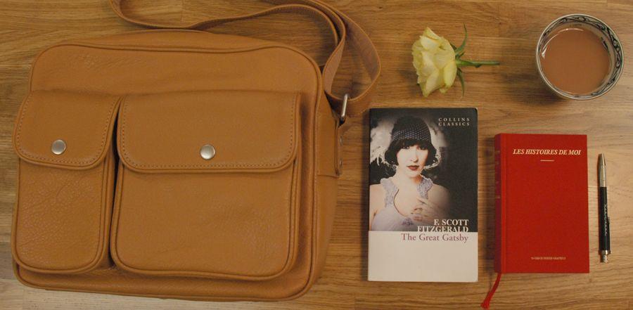 #mmmg postman satchel, #o-check library notebook & #kohinoor mechanical pencil. #staffpicks