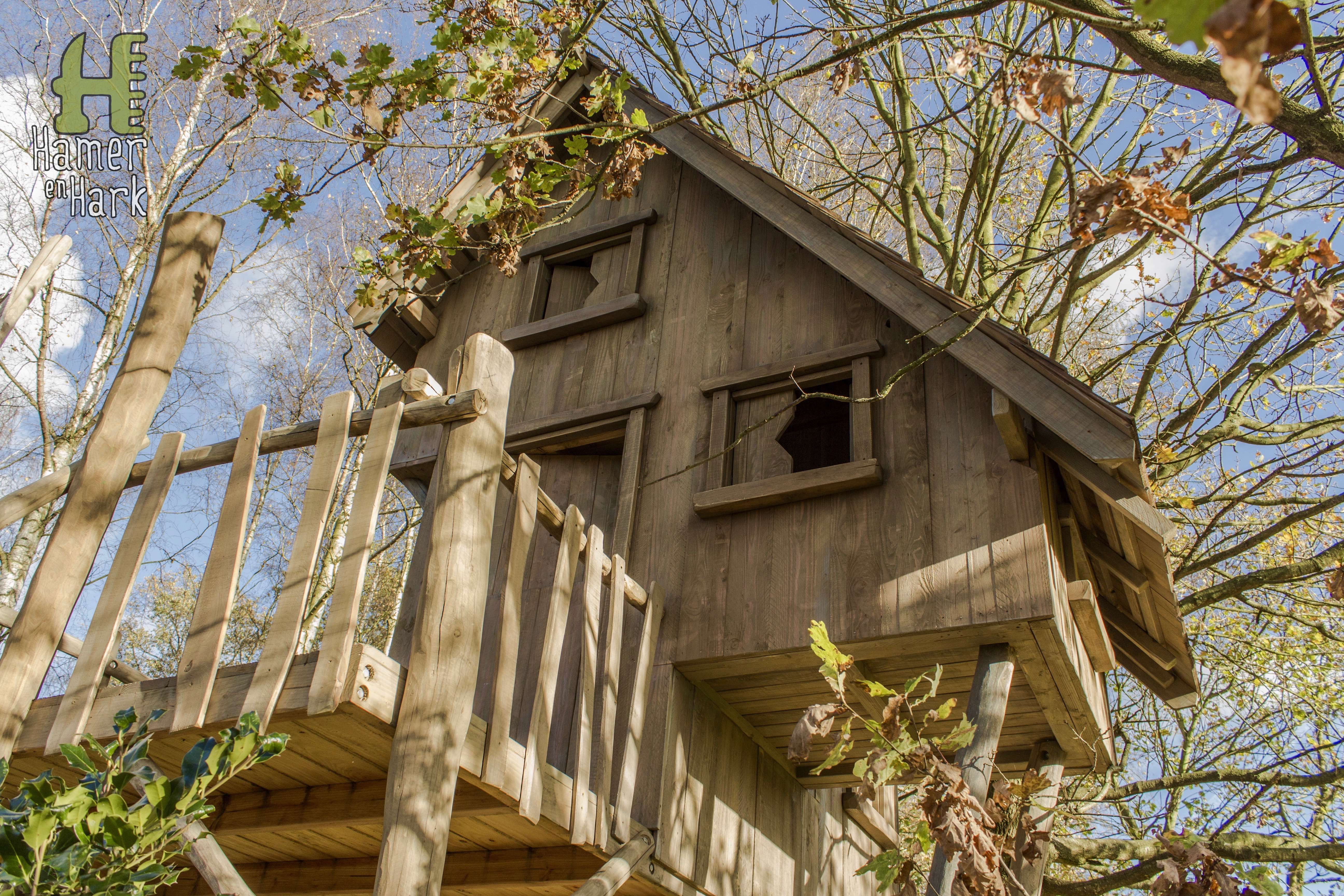 #projecthaasrode #boomhut #hamerenhark #hout #speelhuis #houtmoet #treehouse #playhouse #wood #welovewood
