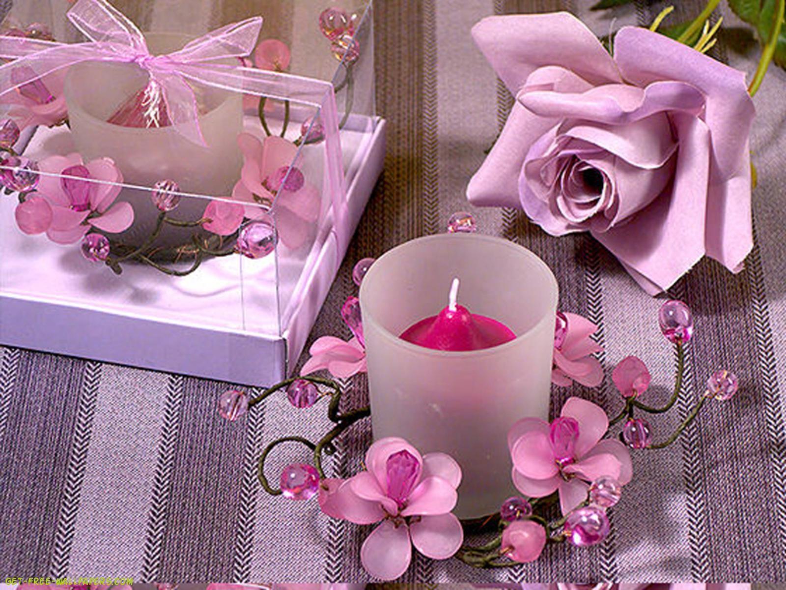Romantic Candles Wallpaper   CANDLES   Pinterest   Romantic candles