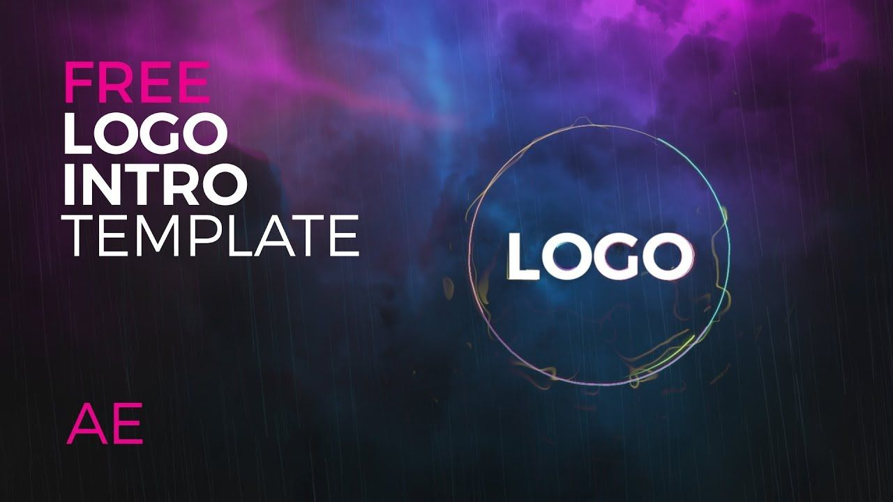 Electric Rain Logo Reveal Intro Free After Effects Template With