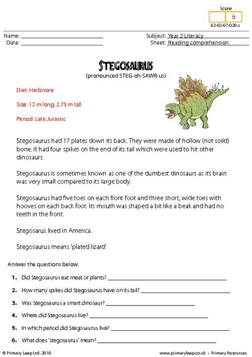 This Worksheet Includes Interesting Facts About The