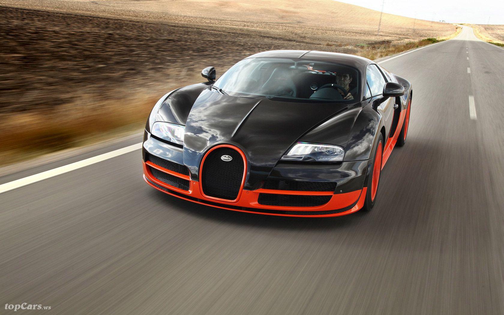 Bugatti Veyron Super Sport Fastest Car In The World Bugatti Veyron Super Sport Bugatti Veyron Bugatti Cars