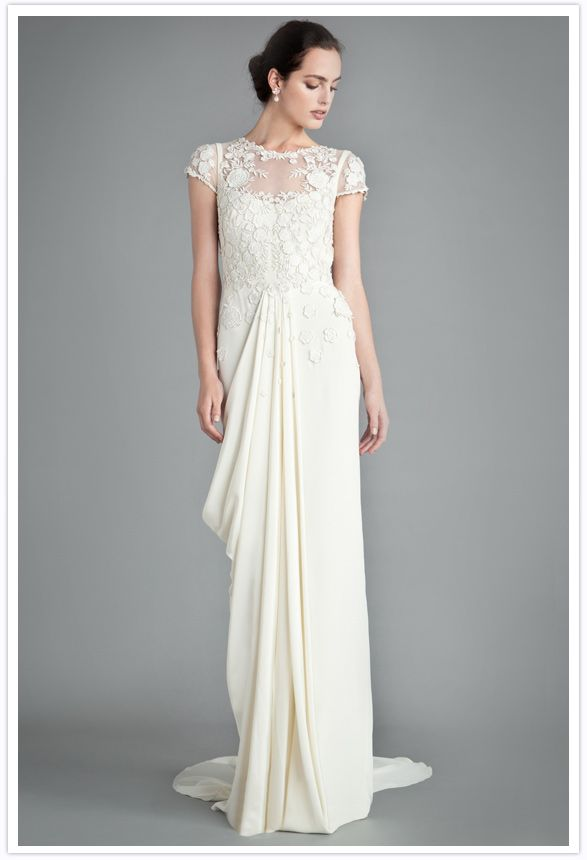 Downton Abbey Inspired Wedding Gown Temperley London My Dream Dress
