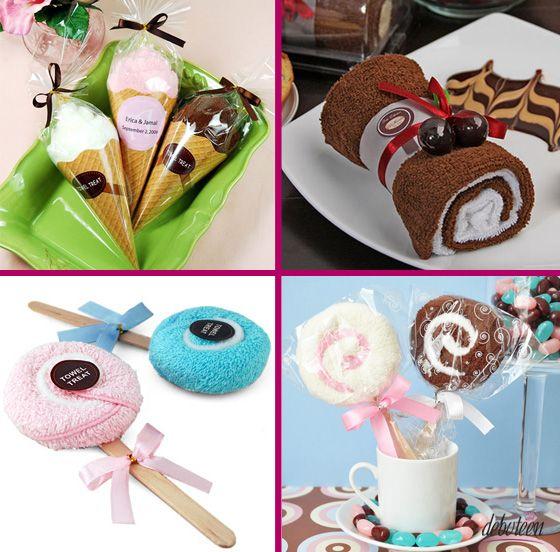 Cupcakes e Docinhos de toalha