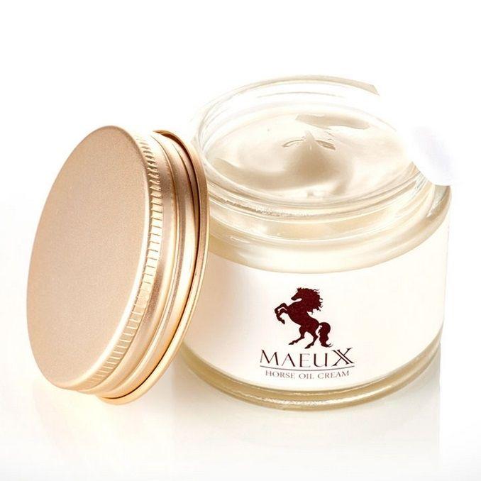 MAEUX Horse Oil Cream ครีมน้ำมันม้าทองคำ สูตรปรับปรุงใหม่ มีมอย ...