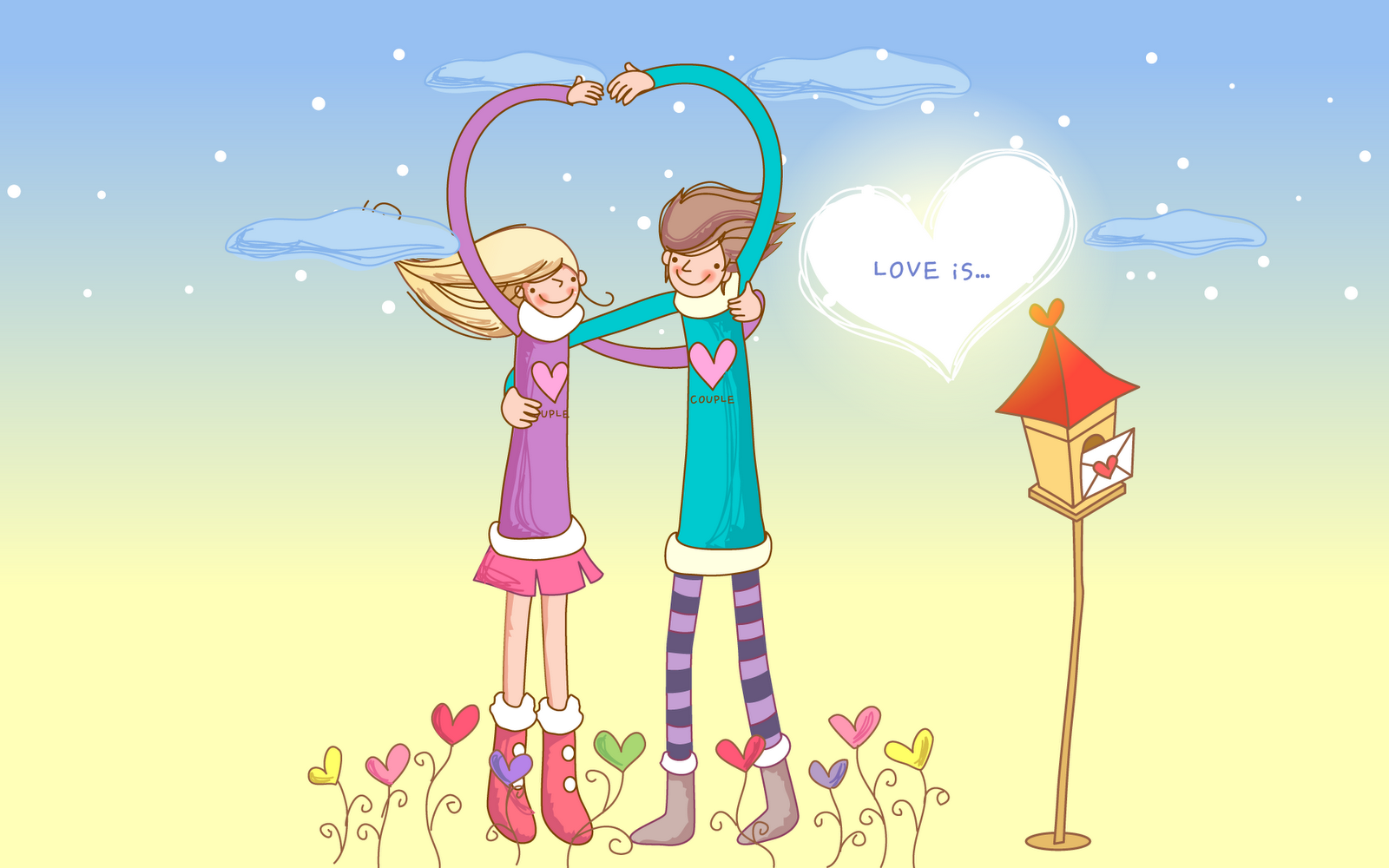 15illustrations which reveal all about love and romance