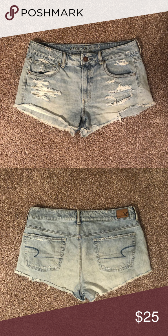 c3dfb33387c2 American Eagle Shorts Size 12 American Eagle American Eagle Outfitters  Shorts Jean Shorts