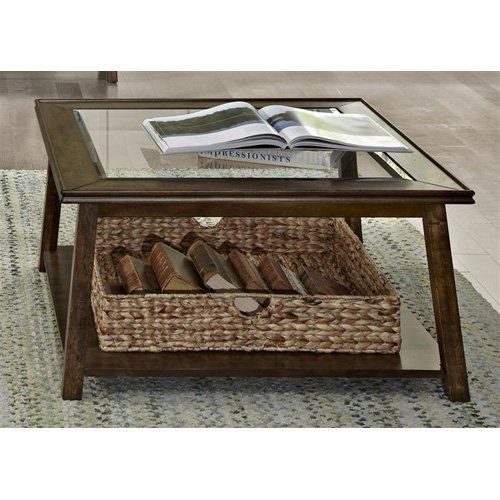 Summerhill Square Coffee Table With Its Rich