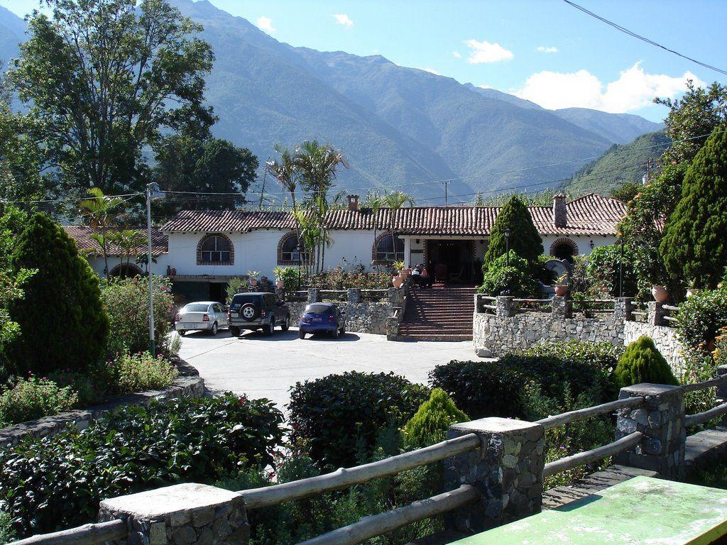 Timotes Venezuela Hotel Las Truchas En Timotes Recepción