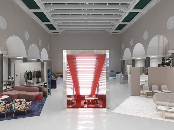 Normann Copenhagen Flagship Showroom Denmark Retail Design Blog