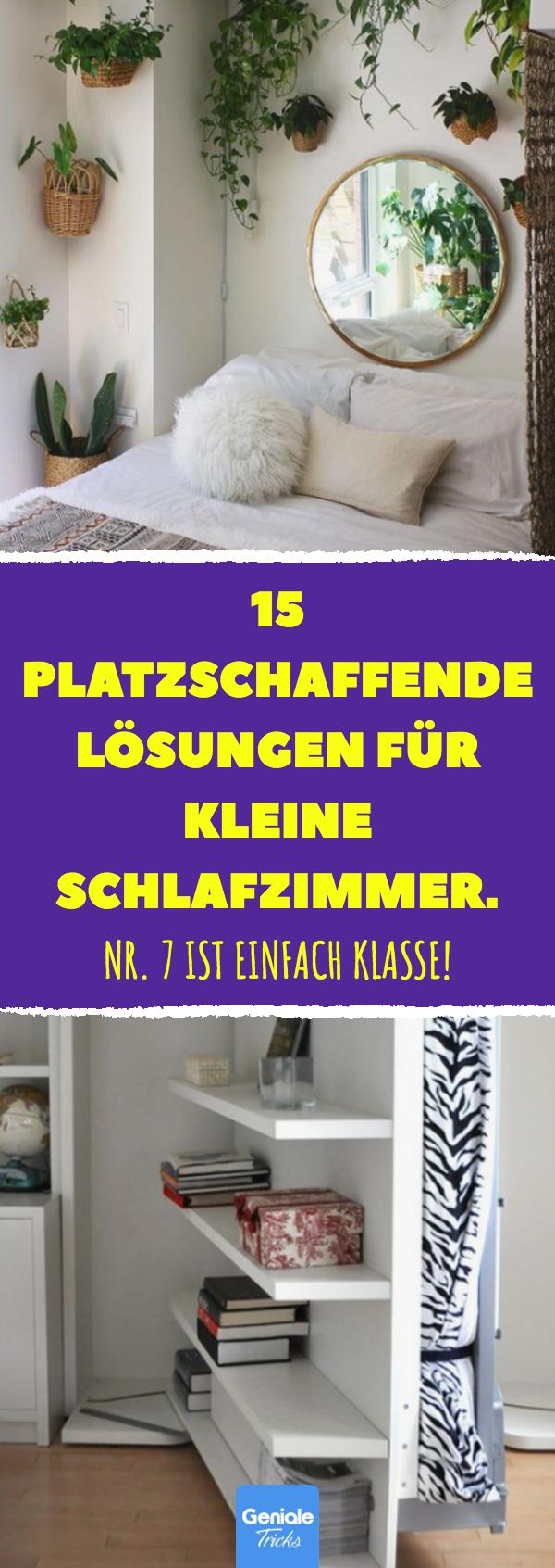 Photo of 15 platzschaffende Lösungen für små Schlafzimmer.