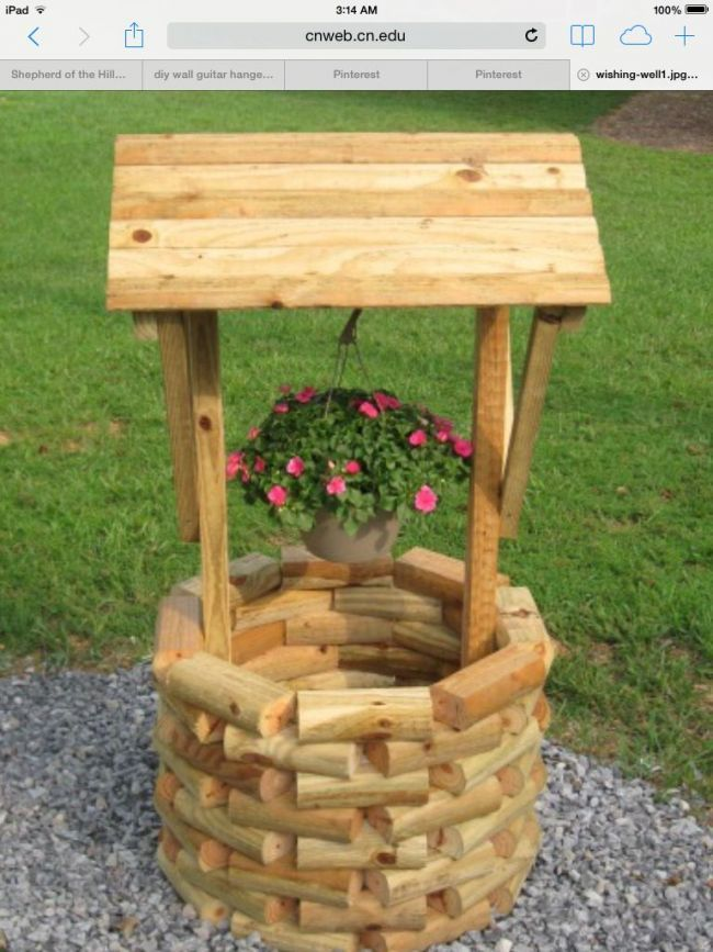 My wife's birthday present! | Landscape timber crafts ...