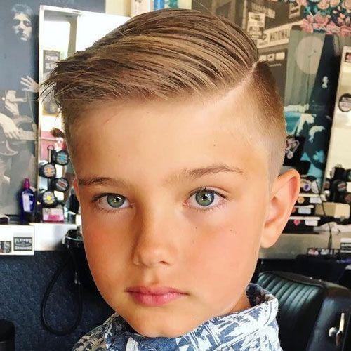 25 Cool Boys Haircuts 2018 | Mid skin fade, Boy hair and Haircuts