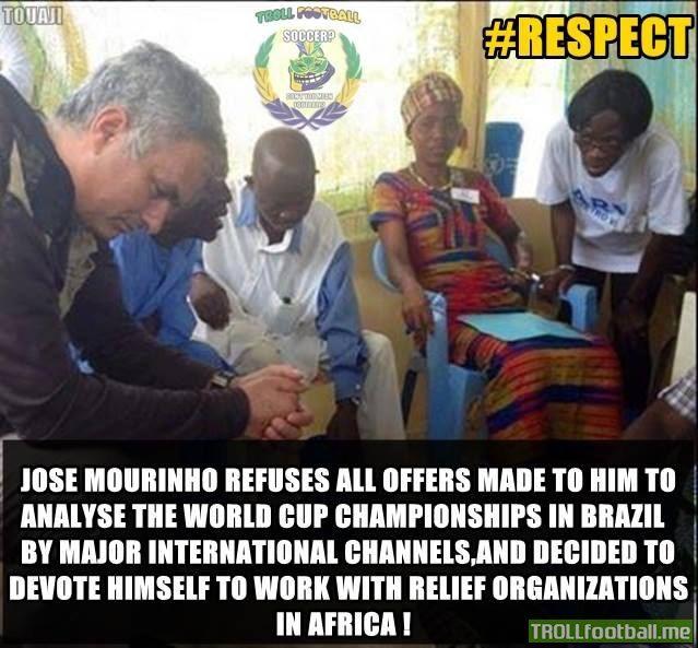 Jose Mourinho has our #RESPECT & #SALUTE  #football #soccer #Trollfootball #JoseMourinho #Mourinho #CFC