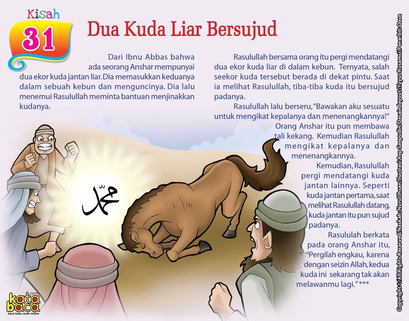 Baca Online Buku 101 Kisah Mukjizat Rasulullah dan Para
