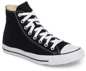a51fcefc1e25 The ever popular Converse Lace Up High Top Sneaker. In the traditional black  and white trim. affiliatelink