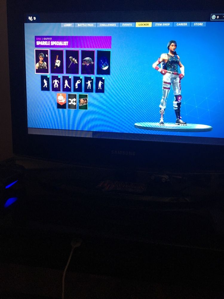 Fortnite sparkle specialist account
