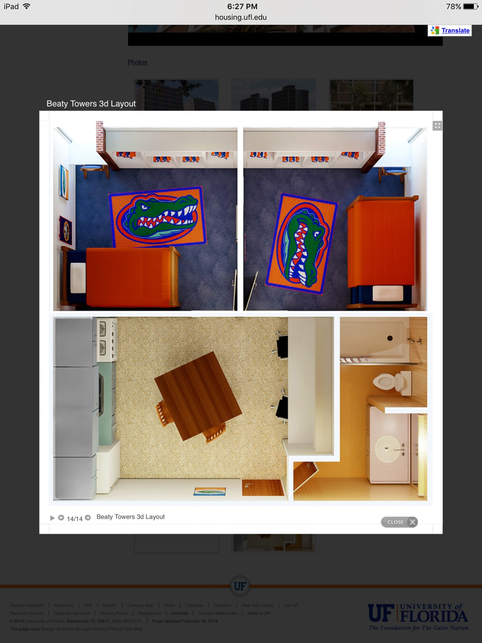Beaty Towers Uf Florida Gators Dorm Layout Uf Dorm Dorm