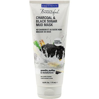 Freeman Feeling Beautiful Charcoal & Black Sugar Mud Mask. I have the scrub version of this... Tried the mud mask tonight and loved it! A dupe for Glam Glow's Super Mud.