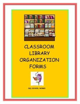 Need some handy forms to keep track of your class library?  This product provides a variety of forms to do just that.  Check out the possibilities.