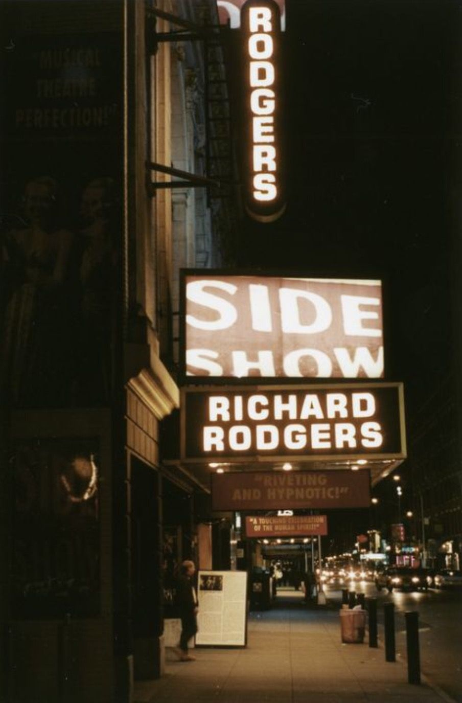 Image result for side show richard rodgers theatre marquee