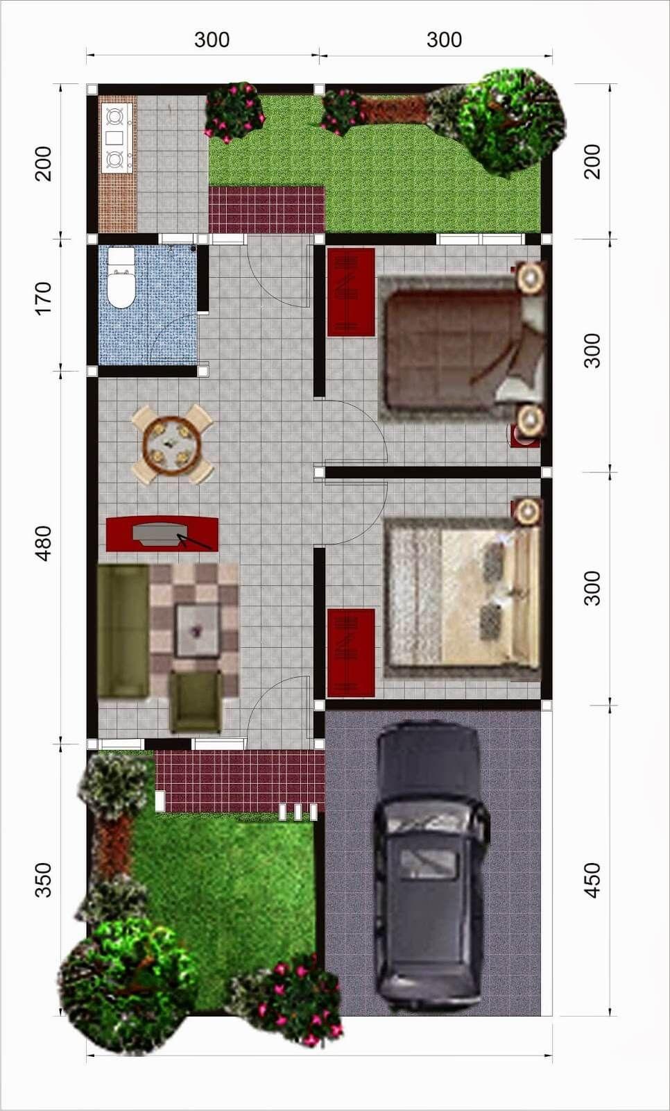 Amazing Beautiful House Plans With All Dimensions Engineering Discoveries Rumah Indah Denah Rumah Denah Lantai Rumah