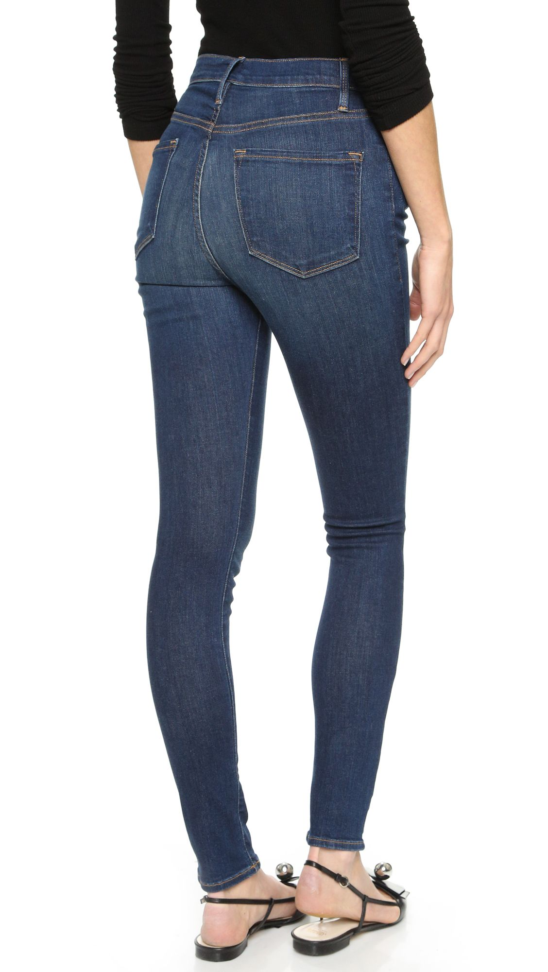 FRAME Ali High Rise Skinny Jeans | SHOPBOP
