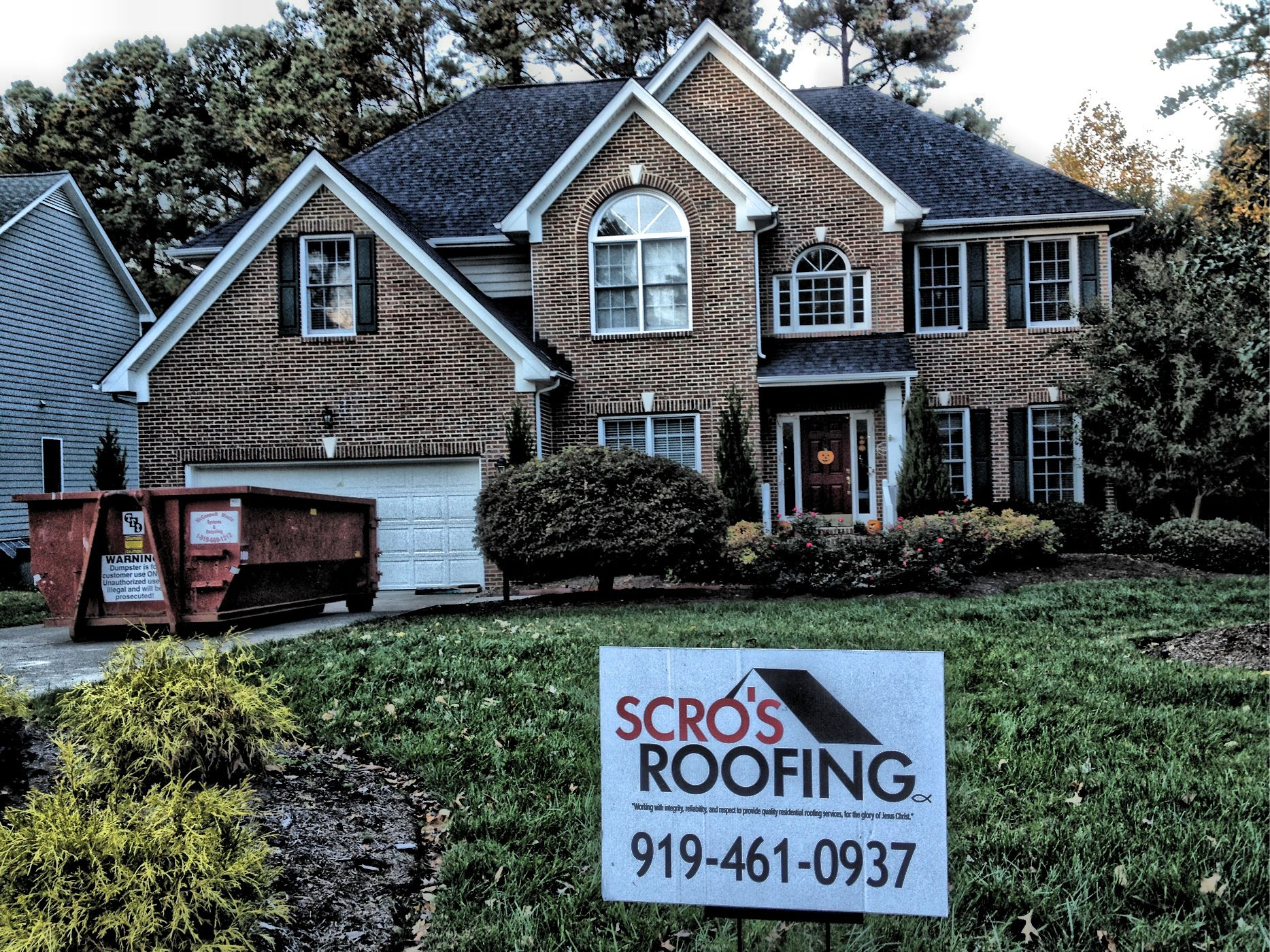 Best New Roof In Cary Certainteed Landmark Color Charcoal 640 x 480