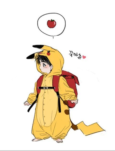 Kookie | Jungkook fanart | Kookachu | BTS