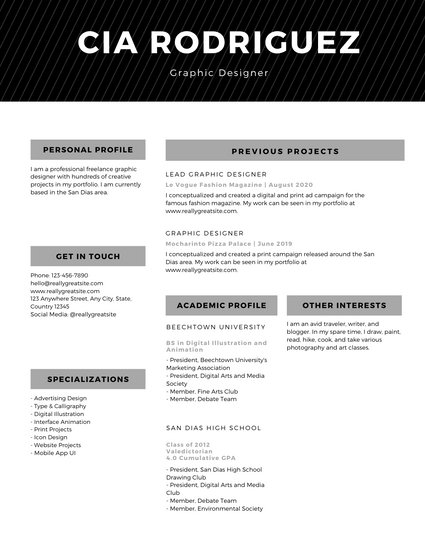 Customize 72+ Professional Resume templates online Canva