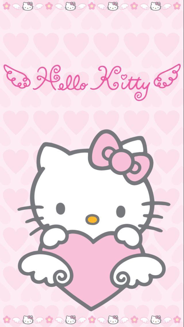 Hello Angel Kitty X. Sanrio Wallpaper ...