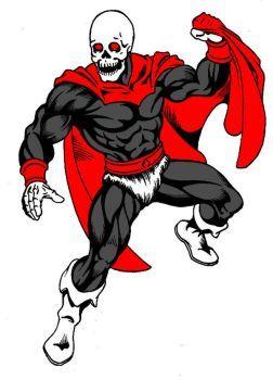 Skull-man by danbrenus