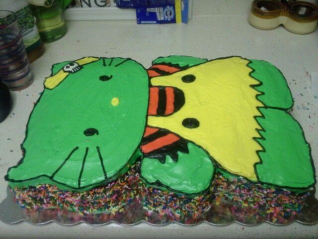 Hello kitty zombie cake kids cakes Pinterest Cake Hello kitty