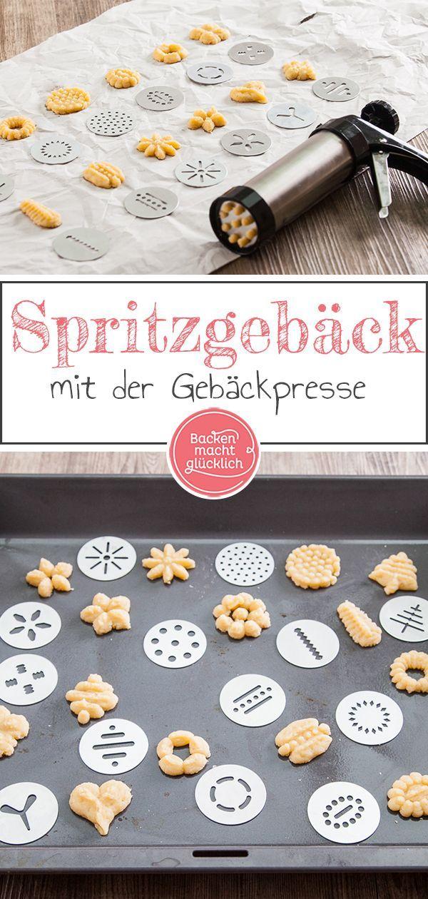Gebäckpresse für Kekse: Rezept & Test   Backen macht glücklich