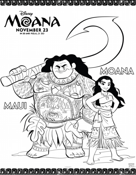 disney movie coloring pages Why I Am Obsessed With Disney's Moana + Free Moana Movie  disney movie coloring pages