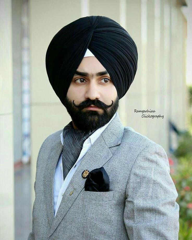Wedding Beard Styles: Pin By Gurjinder On Stylish Sardar
