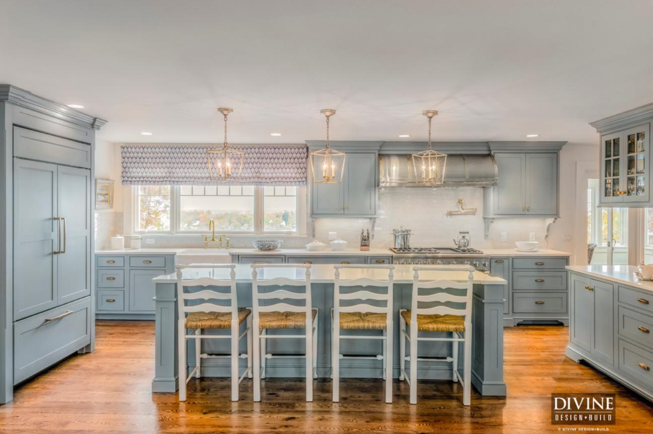 non white kitchen   White kitchen design, Cape cod kitchen ...