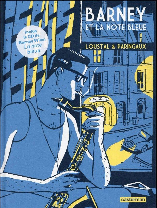 Samba bd - samba news N°109 - Barney et la note bleue - Loustal - Paringaux - casterman