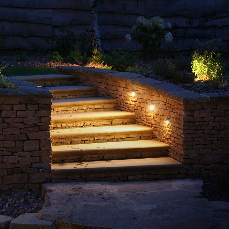 Pin By President Led On Extension Step Lighting Garden Lighting Effects Garden Wall Lights