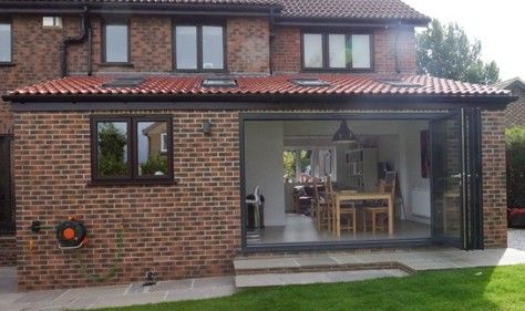Lean to roof kitchen extension 474 281 lean for Lean to extension ideas