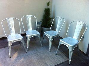 4 french cafe tolix chairs oshawa durham region furniture for