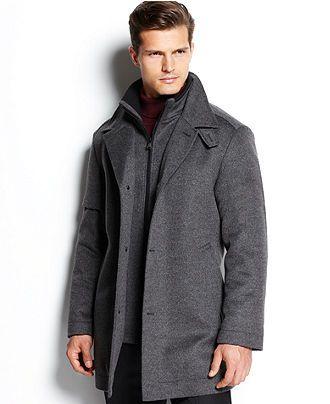 b421f89b5 BOSS HUGO BOSS Coat, Coxtan Coat - Coats & Jackets - Men - Macy's ...