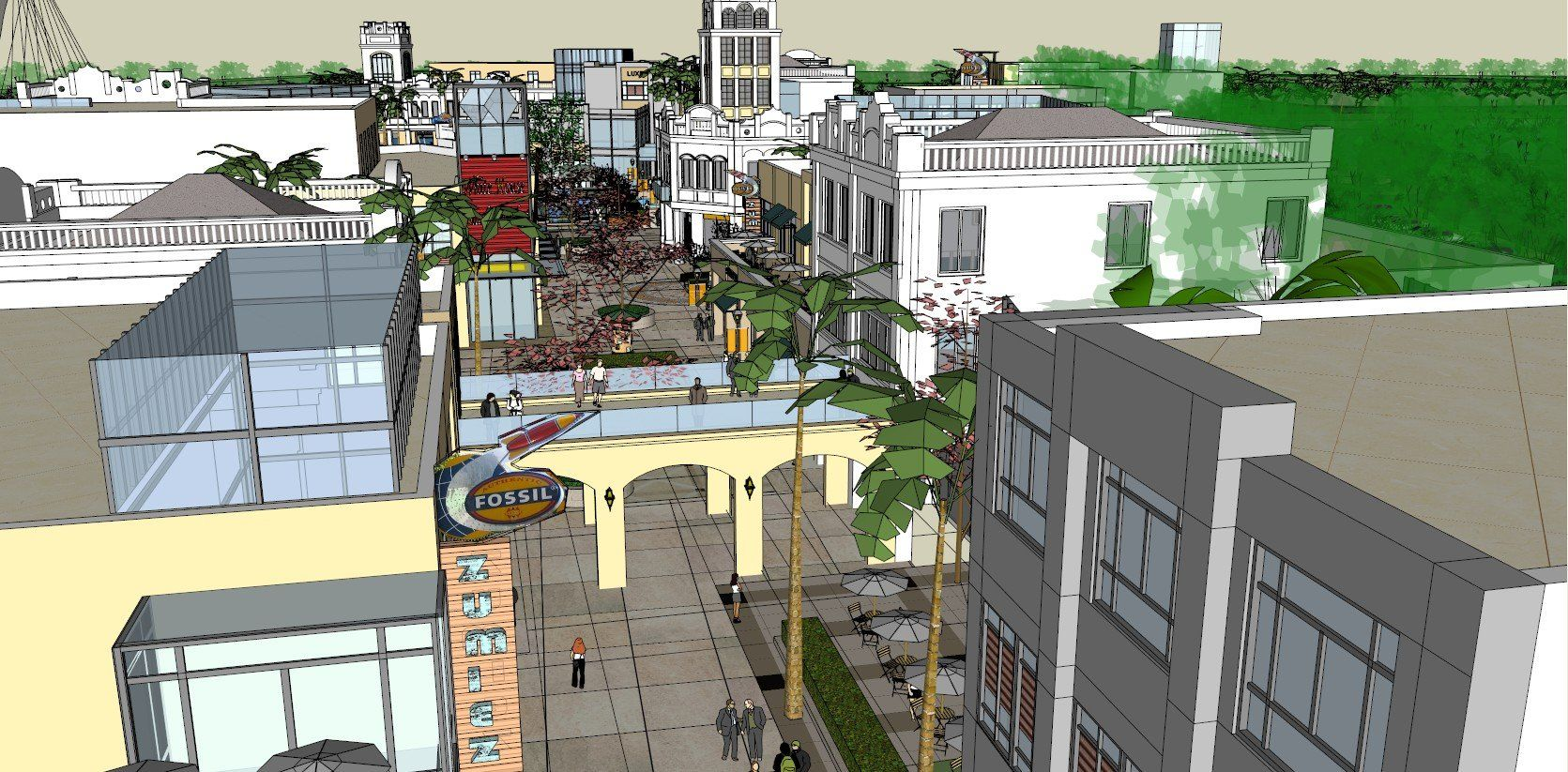 ☆Sketchup 3D Models-Large Scale City Sketchup Models | ☆Sketchup