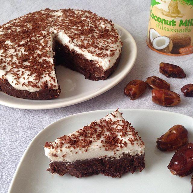 Pamiętacie jeszcze #jagielnikorzechowy? 🙉 Mam tutaj coś podobnego 😍 Tym razem czekoladowe, z dodatkiem daktyli i puchatą warstwą z mleczka kokosowego. Chyba każdy zaopatrzył się w parę puszek na promocji w lidlu (ja 6🙋), a jeśli jeszcze nie mieliście okazji, to z tego co wiem teraz są w biedronce po 3,50zł 😃 Oczywiście warstwa kokosowa nie jest konieczna, samo brownie w sobie jest pyszne! 😍 🍫 CZEKOLADOWY JAGIELNIK DAKTYLOWY 🍫 brownie: ✔️ 100g kaszy jaglanej (ja używam tej w…
