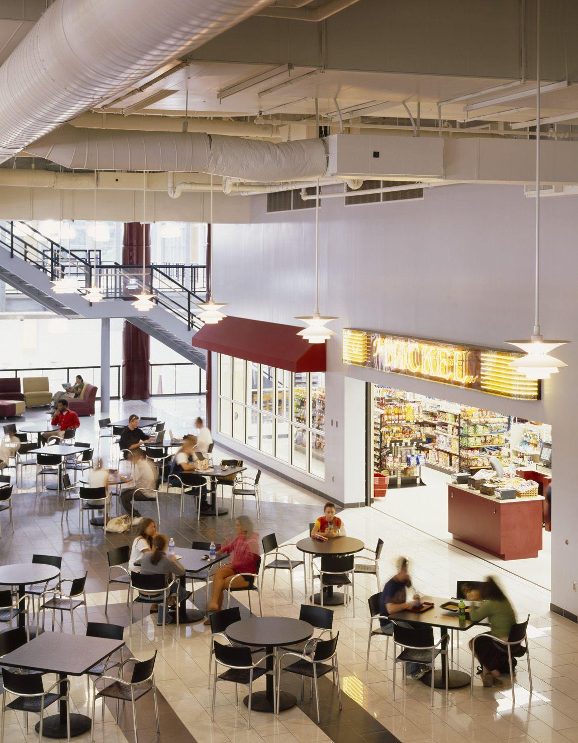 Fairmont State University Student Union And Recreation Center Fairmont Wv Cafeteria Voa