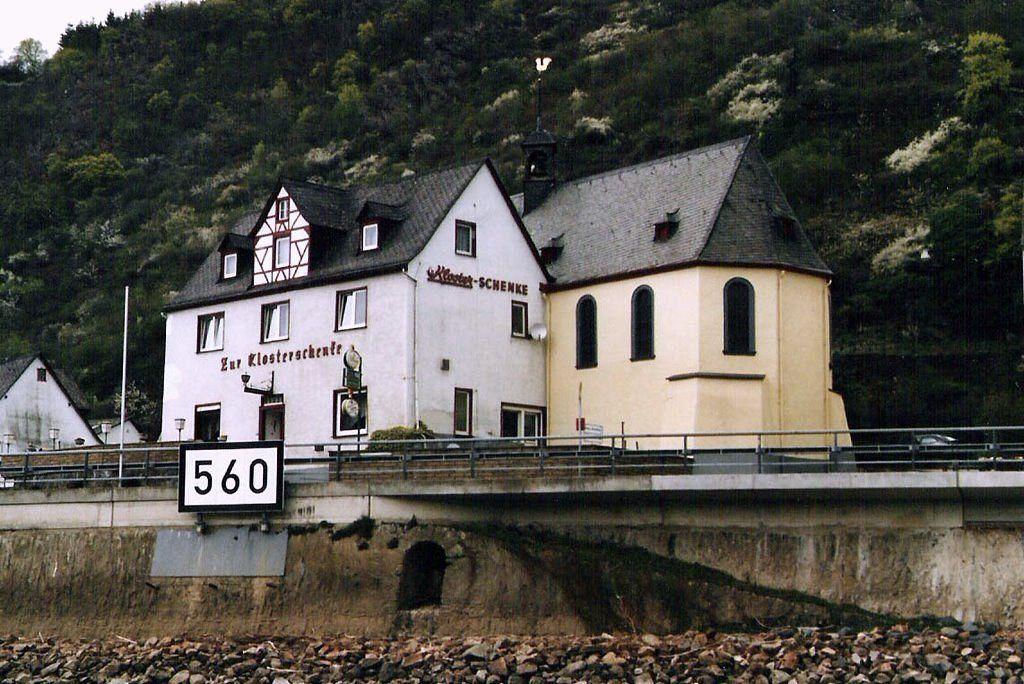 Gasthof Zur Klosterschänke Ortsstraße St. Goarshausen Alemanha ...