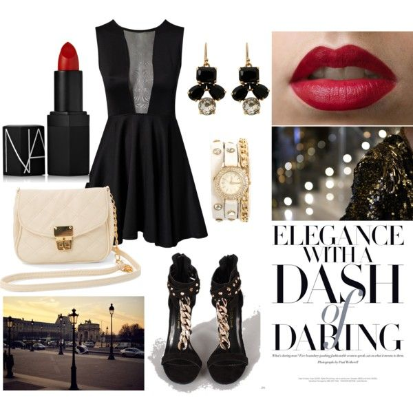 """Girls Night Out in the City"" by asleep-673 on Polyvore"