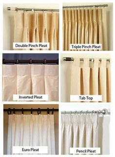 Image Result For Two Pinch Pleat At The Top Drapery