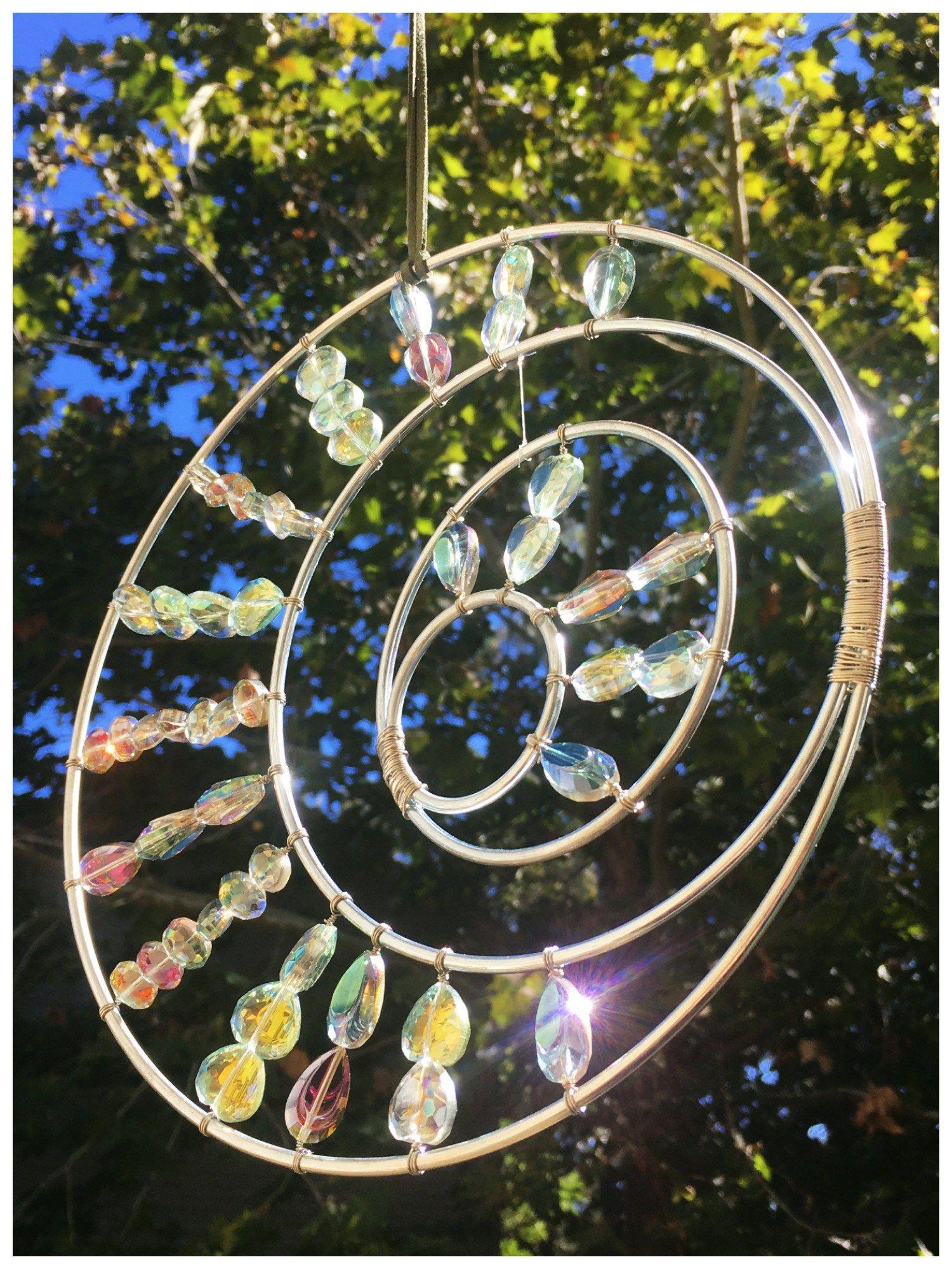 Beaded Wire Garden Art
